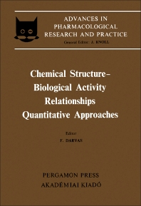 Cover image for Chemical Structure–Biological Activity Relationships: Quantitative Approaches