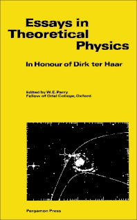 Essays in Theoretical Physics - 1st Edition - ISBN: 9780080265230, 9781483149639