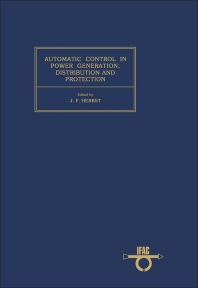 Automatic Control in Power Generation, Distribution and Protection - 1st Edition - ISBN: 9780080267098, 9781483150185