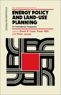 Energy Policy and Land-Use Planning - 1st Edition - ISBN: 9780080267579, 9781483285894