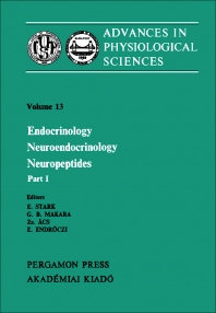 Endocrinology Neuroendocrinology Neuropeptides - 1st Edition - ISBN: 9780080268279, 9781483156156