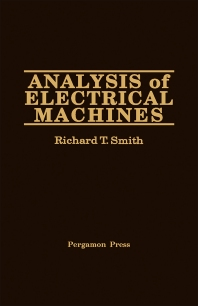 Analysis of Electrical Machines - 1st Edition - ISBN: 9780080271743, 9781483190013
