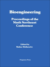 Bioengineering - 1st Edition - ISBN: 9780080272078, 9781483148182
