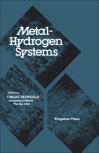 Metal-Hydrogen Systems - 1st Edition - ISBN: 9780080273112, 9781483190105
