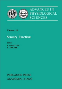 Sensory Functions - 1st Edition - ISBN: 9780080273372, 9781483190112