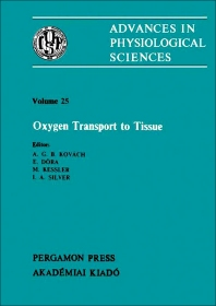 Oxygen Transport to Tissue - 1st Edition - ISBN: 9780080273464, 9781483190167