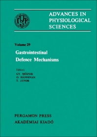 Gastrointestinal Defence Mechanisms 1st Edition