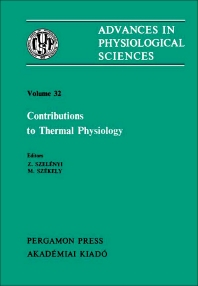 Contributions to Thermal Physiology - 1st Edition - ISBN: 9780080273549, 9781483190211