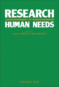 Research and Human Needs - 1st Edition - ISBN: 9780080274171, 9781483154091