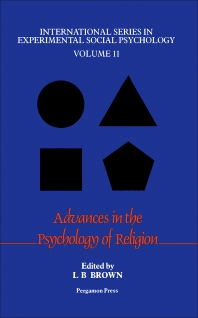 Cover image for Advances in the Psychology of Religion