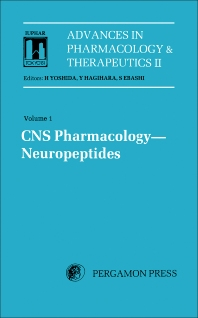 CNS Pharmacology Neuropeptides - 1st Edition - ISBN: 9780080280219, 9781483148441