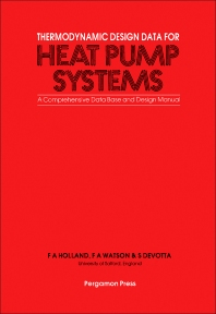 Thermodynamic Design Data for Heat Pump Systems - 1st Edition - ISBN: 9780080287270, 9781483154978