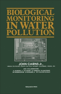 Biological Monitoring in Water Pollution - 1st Edition - ISBN: 9780080287300, 9781483161150