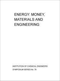 Energy: Money, Materials and Engineering - 1st Edition - ISBN: 9780080287744, 9781483137520