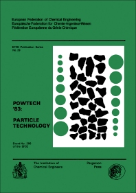 Powtech '83 Particle Technology - 1st Edition - ISBN: 9780080287850, 9781483147314