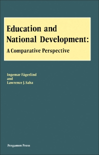 Education and National Development - 1st Edition - ISBN: 9780080289151, 9781483154497