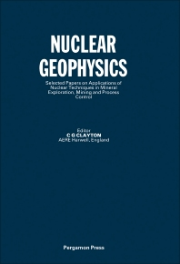 Nuclear Geophysics - 1st Edition - ISBN: 9780080291581, 9781483286037