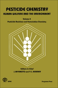 Pesticide Chemistry: Human Welfare and the Environment - 1st Edition - ISBN: 9780080292250, 9781483157320