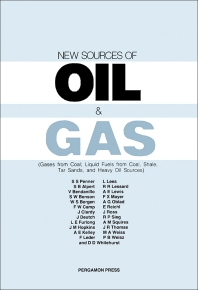 New Sources of Oil and Gas - 1st Edition - ISBN: 9780080293356, 9781483190525