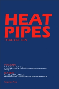 Heat Pipes - 3rd Edition - ISBN: 9780080293554, 9780080984025