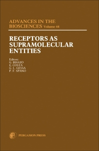 Receptors as Supramolecular Entities - 1st Edition - ISBN: 9780080298047, 9781483155500