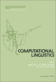 Computational Linguistics - 1st Edition - ISBN: 9780080302539, 9781483190617
