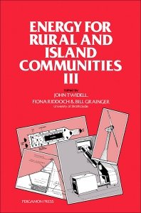 Energy for Rural and Island Communities III - 1st Edition - ISBN: 9780080305806, 9781483161235