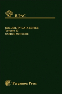 Solubility Data Series - 1st Edition - ISBN: 9780080307336, 9781483286150