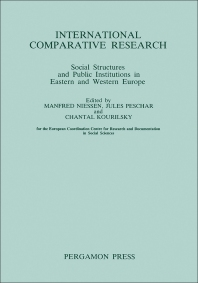 International Comparative Research - 1st Edition - ISBN: 9780080313344, 9781483158891