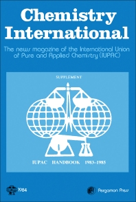 Chemistry International - 1st Edition - ISBN: 9780080314372, 9781483137421