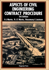 Aspects of Civil Engineering Contract Procedure - 3rd Edition - ISBN: 9780080316383, 9781483293301