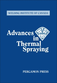 Cover image for Advances in Thermal Spraying