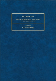 Ecdysone - 1st Edition - ISBN: 9780080320168, 9781483190822