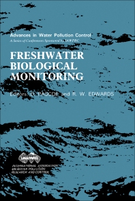 Freshwater Biological Monitoring - 1st Edition - ISBN: 9780080323138, 9781483158860