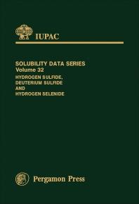 Cover image for Hydrogen Sulfide, Deuterium Sulfide & Hydrogen Selenide