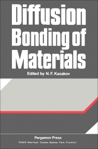 Cover image for Diffusion Bonding of Materials