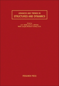 Advances and Trends in Structures and Dynamics - 1st Edition - ISBN: 9780080327891, 9781483150062