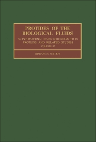 Protides of the Biological Fluids - 1st Edition - ISBN: 9780080332154, 9781483279763