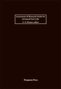 Assessment of Research Needs for Advanced Fuel Cells - 1st Edition - ISBN: 9780080339900, 9781483190976