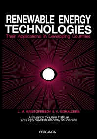 Renewable Energy Technologies - 1st Edition - ISBN: 9780080340616, 9781483190990