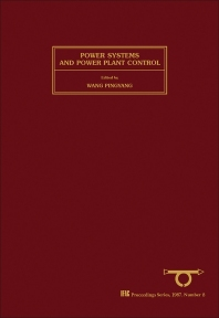 Power Systems & Power Plant Control - 1st Edition - ISBN: 9780080340777, 9781483298221