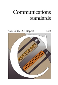 Communications Standards - 1st Edition - ISBN: 9780080340920, 9781483160931