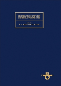 Cover image for Distributed Computer Control Systems 1986
