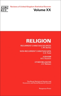 Religion - 1st Edition - ISBN: 9780080347783, 9781483295992