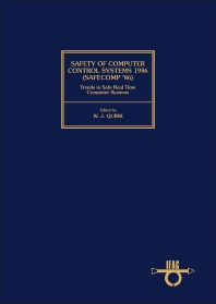 Cover image for Safety of Computer Control Systems 1986 (Safecomp '86) Trends in Safe Real Time Computer Systems