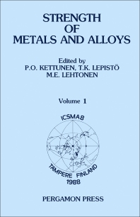 Cover image for Strength of Metals and Alloys (ICSMA 8)