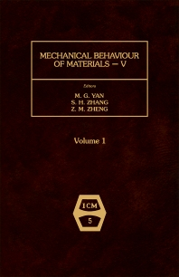 Cover image for Mechanical Behaviour of Materials V