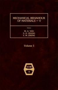 Mechanical Behaviour of Materials V - 1st Edition - ISBN: 9780080349121, 9781483294124