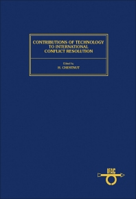 Cover image for Contributions of Technology to International Conflict Resolution