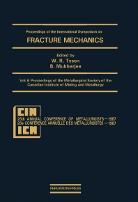 Proceedings of the Metallurgical Society of the Canadian Institute of Mining and Metallurgy - 1st Edition - ISBN: 9780080357645, 9781483191119